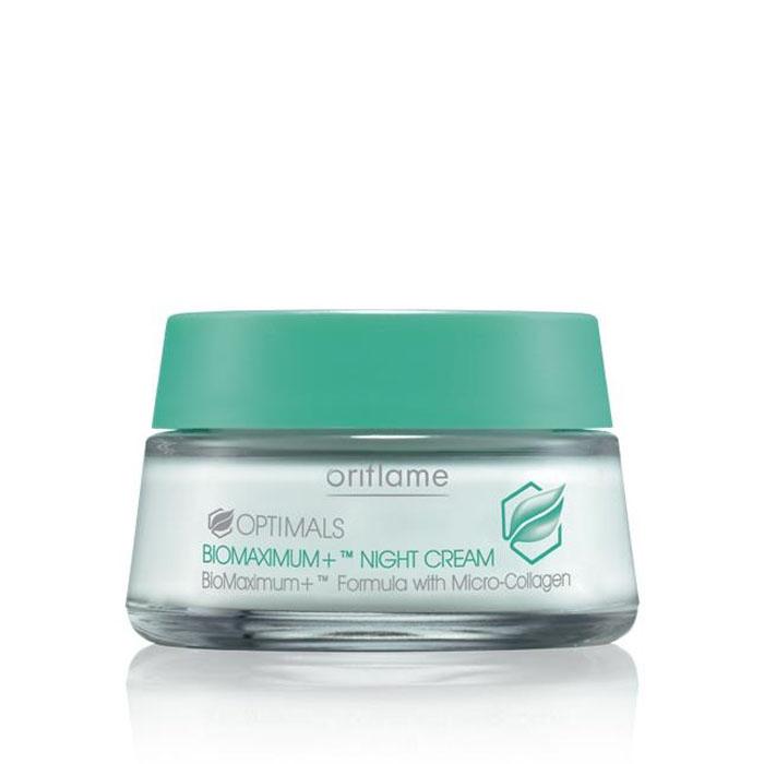 Продукт Oriflame Ночной крем против глубоких морщин BIOMAXIMUM+ - код 16978