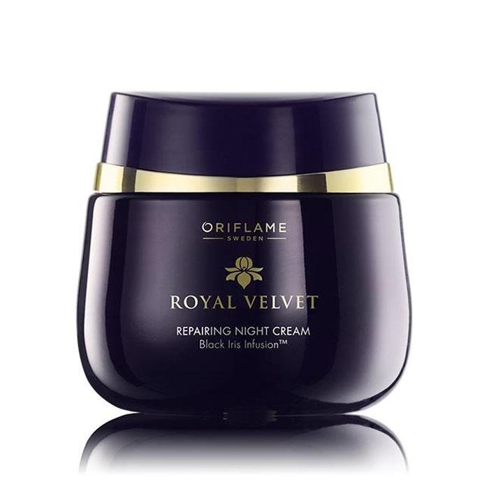 Продукт Oriflame Подтягивающий ночной крем ROYAL VELVET - код 22814