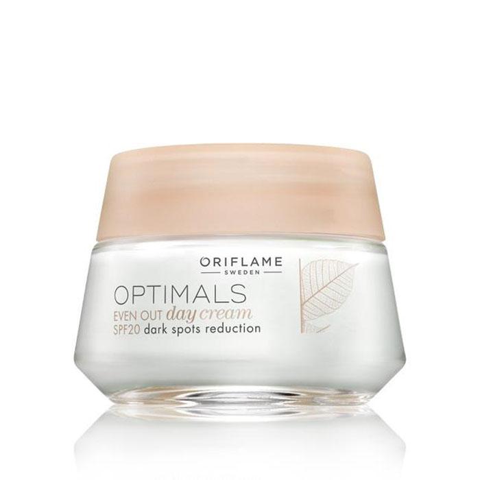 Продукт Oriflame Дневной крем, выравнивающий тон кожи, с SPF 20 и ночной крем, выравнивающий тон кожи «Защита и осветление» - код 25206