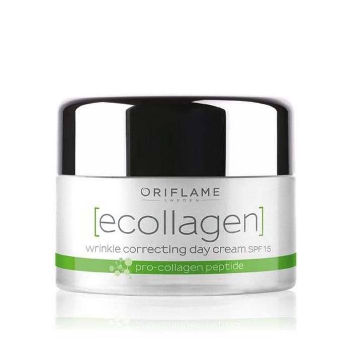 Продукт Oriflame Дневной крем против морщин SPF 15 «Эколлаген» - код 26685