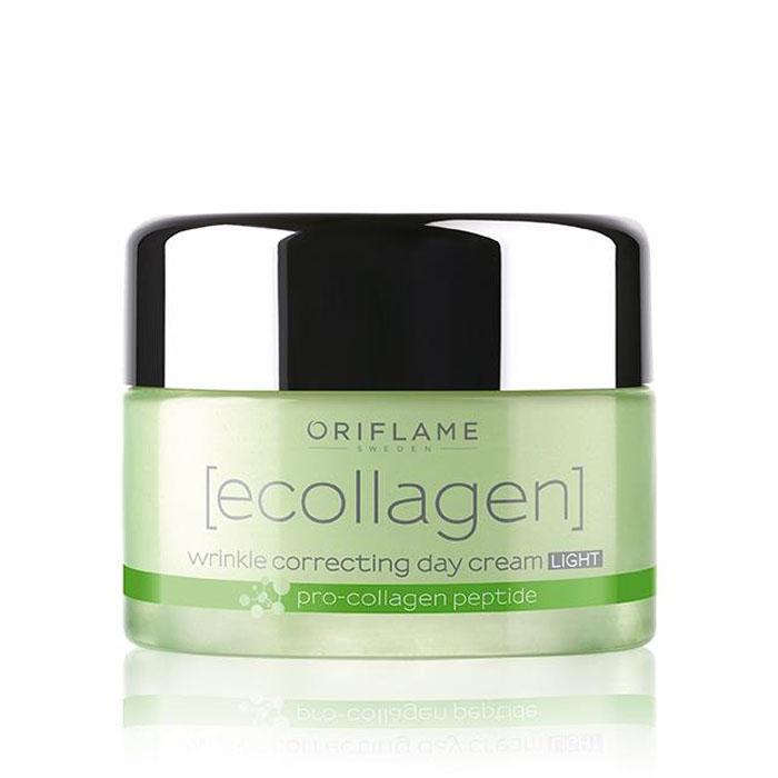 Продукт Oriflame Легкий дневной крем против морщин «Эколлаген» - код 30028