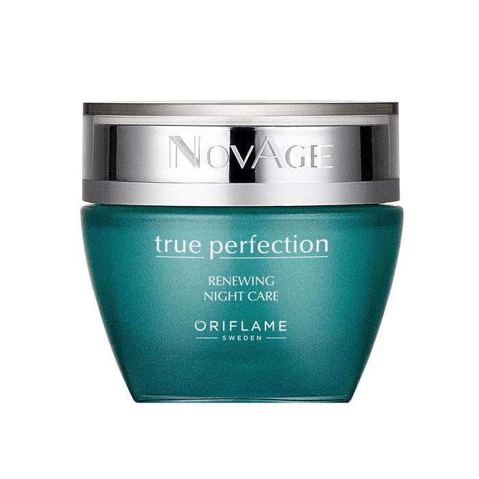 Продукт Oriflame Ночной обновляющий крем-бальзам для совершенства кожи NOVAGE TRUE PERFECTION - код 31980