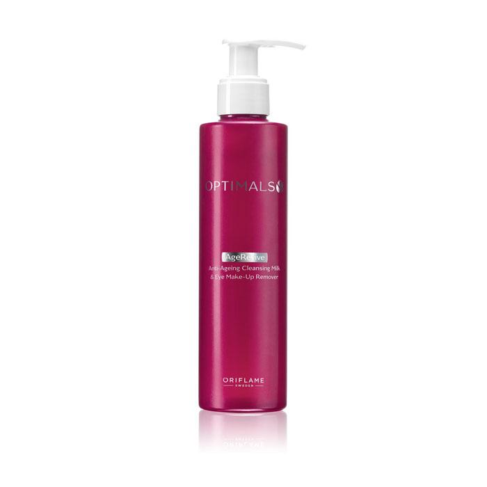 Продукт Oriflame Антивозрастное молочко для снятия макияжа OPTIMALS AGE REVIVE - код 32416