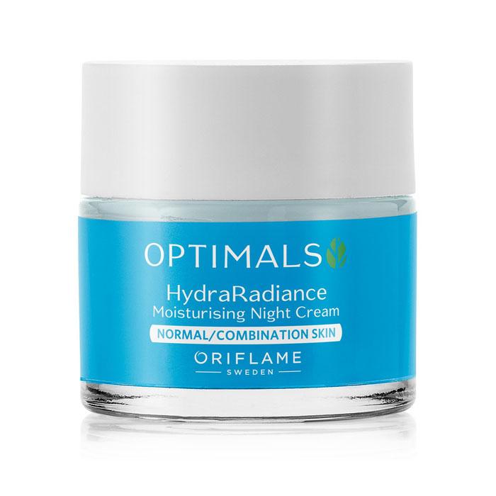 Продукт Oriflame Увлажняющий ночной крем для нормал./комбинир. кожи OPTIMALS HYDRA RADIANCE - код 32463