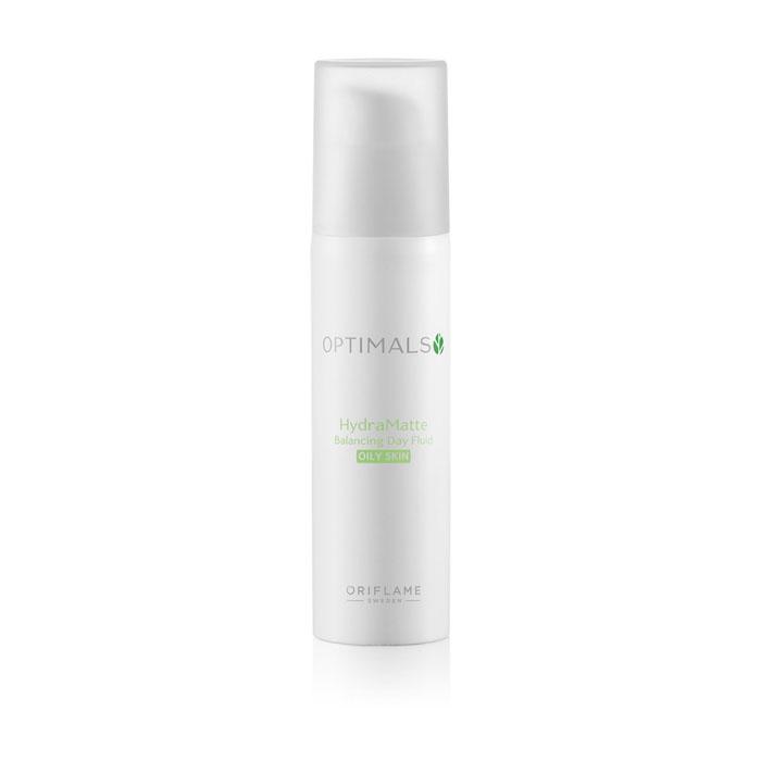 Продукт Oriflame Матирующий дневной крем-флюид для жирной кожи OPTIMALS HYDRA - код 32465