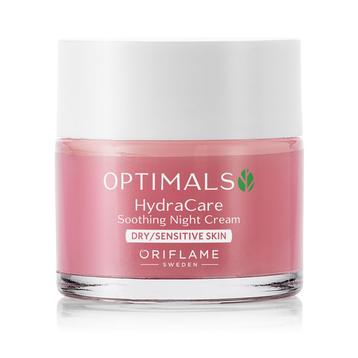 Продукт Oriflame Увлажняющий ночной крем для сух./чувствит. кожи OPTIMALS HYDRA CARE - код 32469