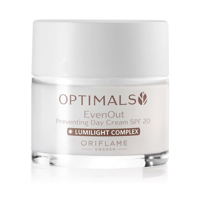 Продукт Oriflame Дневной крем против пигментации SPF 20 OPTIMALS EVEN OUT - код 32479