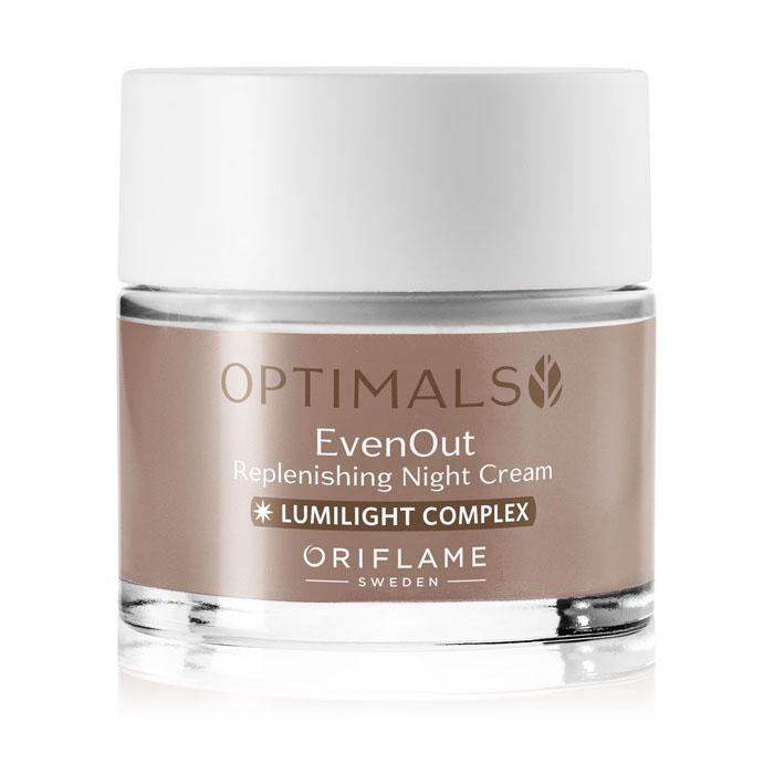 Продукт Oriflame Ночной крем против пигментации OPTIMALS EVEN OUT - код 32480
