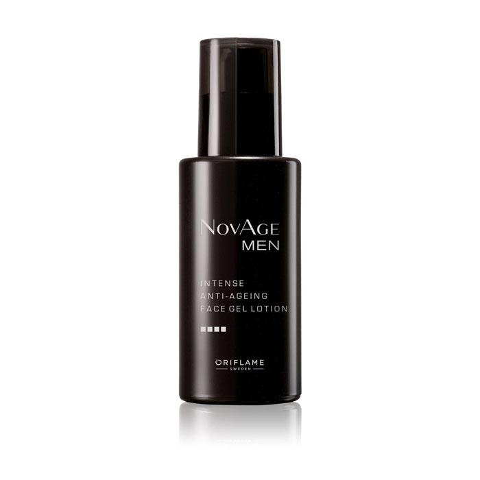 Продукт Oriflame Увлажняющий гель-крем против старения кожи NOVAGE MEN - код 33201