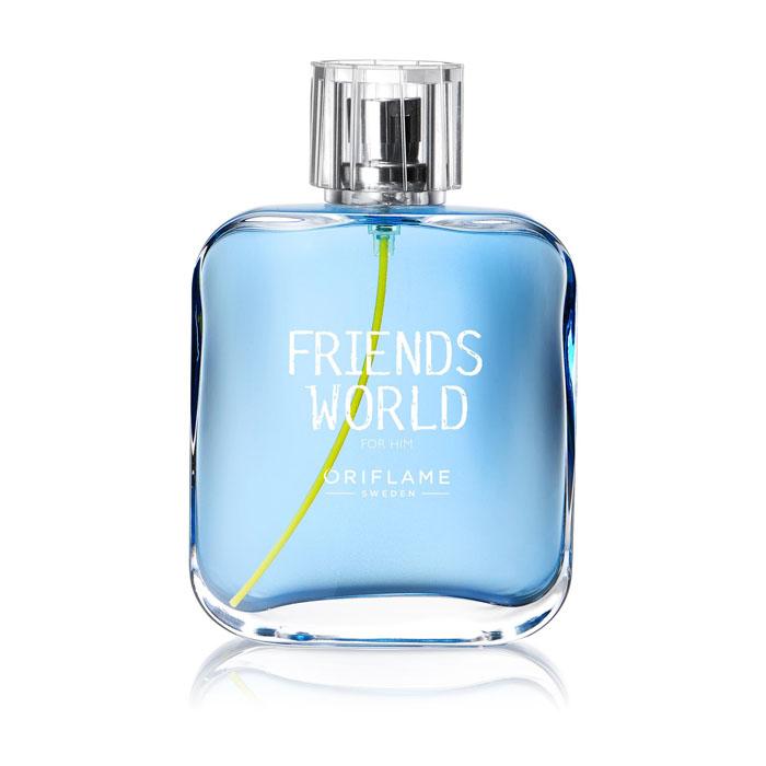 Продукт Oriflame Туалетная вода FRIENDS WORLD FOR HIM - код 33384