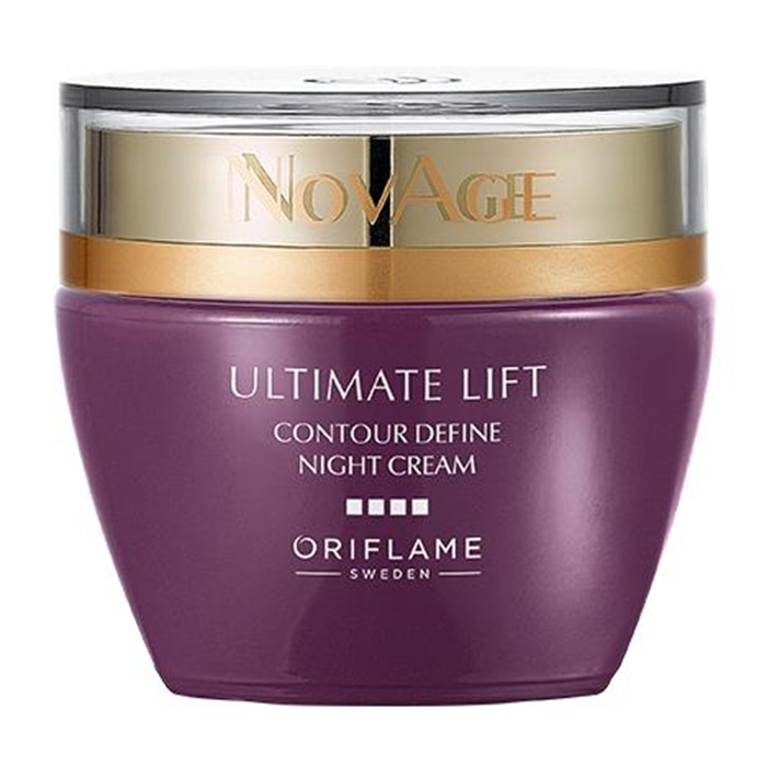 Продукт Oriflame Ночной крем-лифтинг NovAge Ultimate Lift Contour Define - код 34549