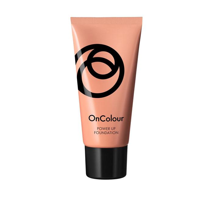 Продукт Oriflame Ухаживающая тональная основа OnColour - СЛОНОВАЯ КОСТЬ - код 38806