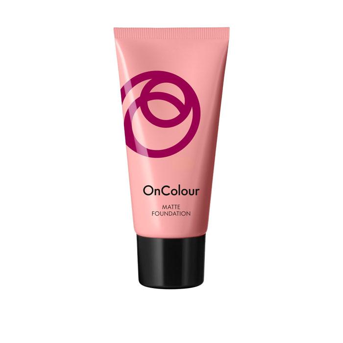 Продукт Oriflame Матирующая тональная основа OnColour - Фарфоровый - код 39267
