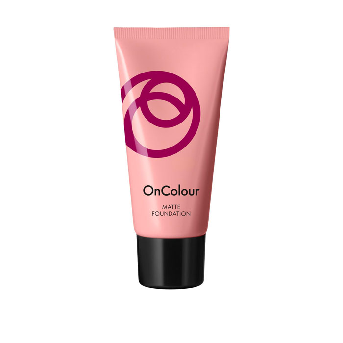 Продукт Oriflame Матирующая тональная основа OnColour - Естественный беж - код 39269