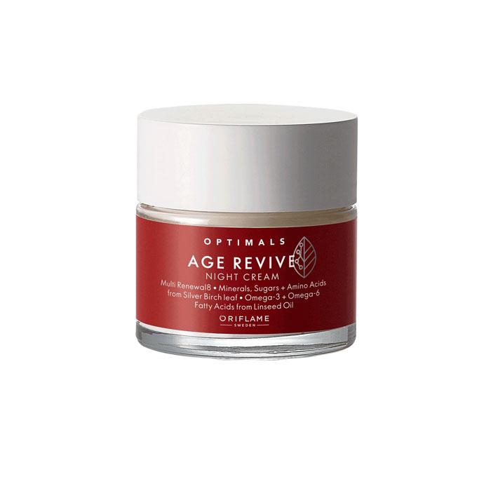 Продукт Oriflame Антивозрастной ночной крем Optimals Age Revive - код 42549