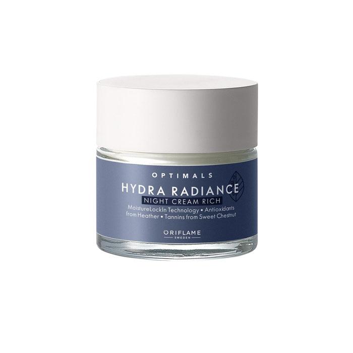 Продукт Oriflame Увлажняющий ночной крем для сухой кожи Optimals Hydra Radiance - код 42589