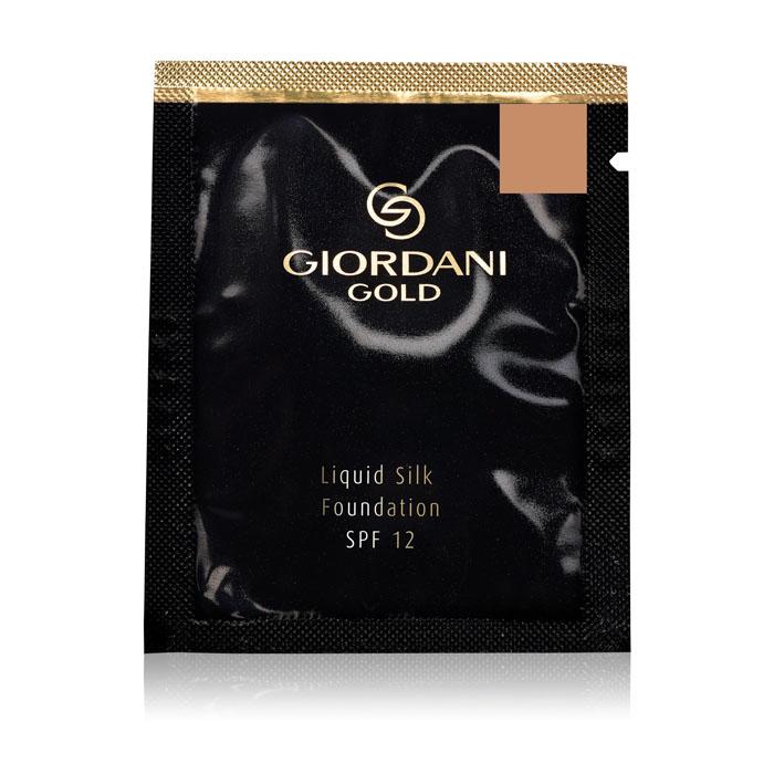 Пробник Шелковая тональная основа-флюид SPF 12 Giordani Gold - ЕСТЕСТВЕННЫЙ БЕЖ - код 32939