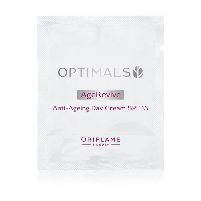 Пробник Антивозрастной дневной крем для лица SPF 15 OPTIMALS AGE REVIVE - код 33355
