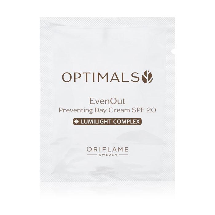 Пробник Дневной крем против пигментации SPF 20 OPTIMALS EVEN OUT - код 34422