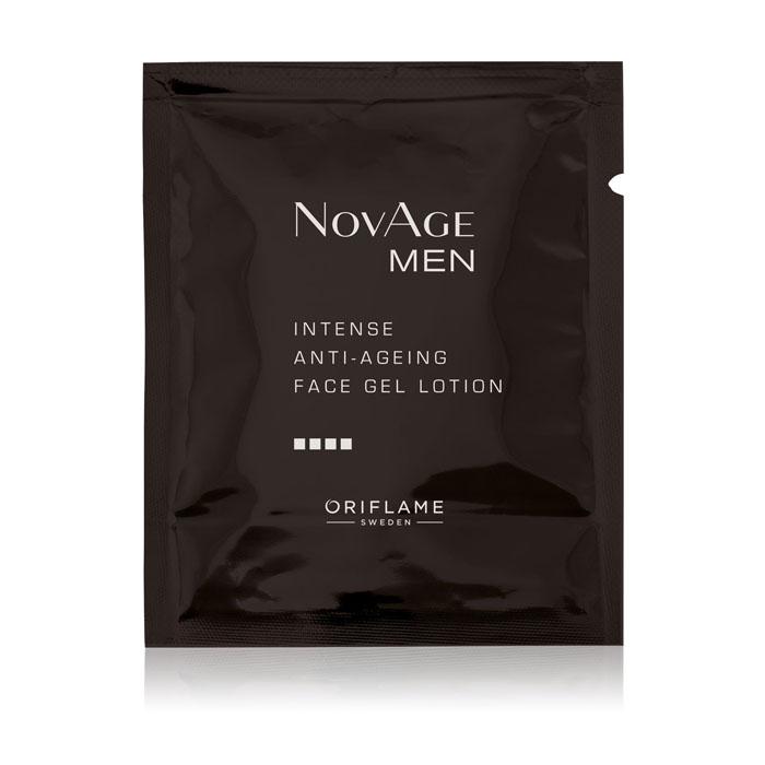 Пробник Увлажняющий гель-крем против старения кожи NOVAGE MEN - код 34612