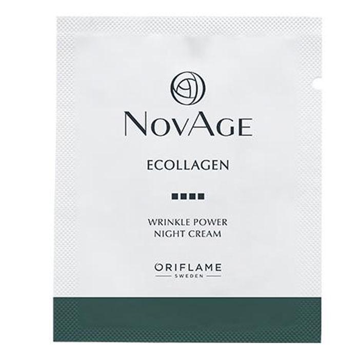 Пробник Ночной крем против морщин NOVAGE ECOLLAGEN WRINKLE POWER - код 35082