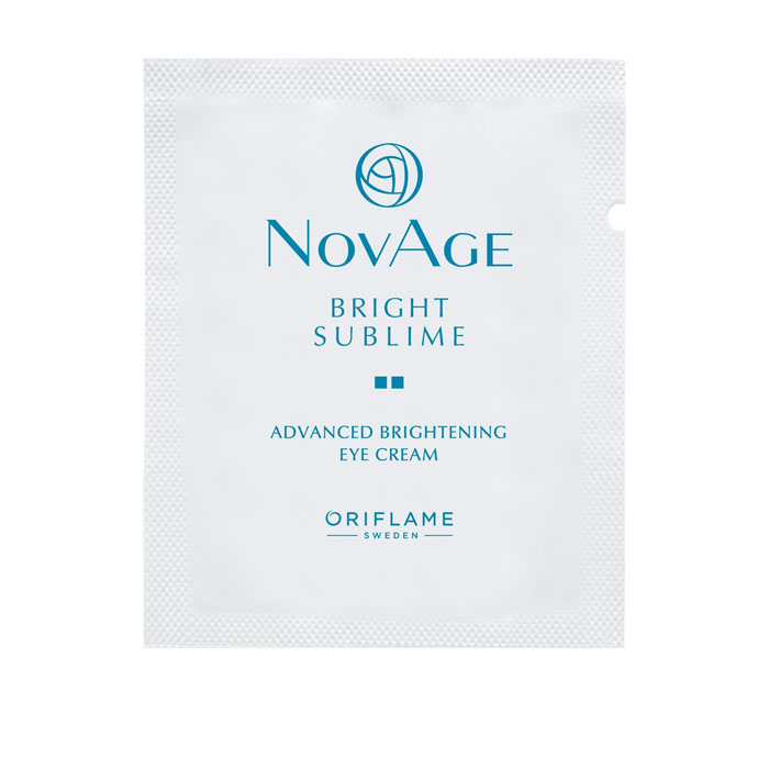 Пробник Крем для кожи вокруг глаз против пигментации NOVAGE BRIGHT SUBLIME - код 35210