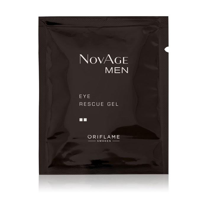 Пробник Тонизирующий гель для кожи вокруг глаз NOVAGE MEN - код 35232