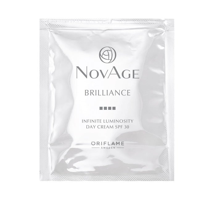 Пробник Дневной крем против пигментации SPF 30 Novage Brilliance Infinite Luminosity - код 36204