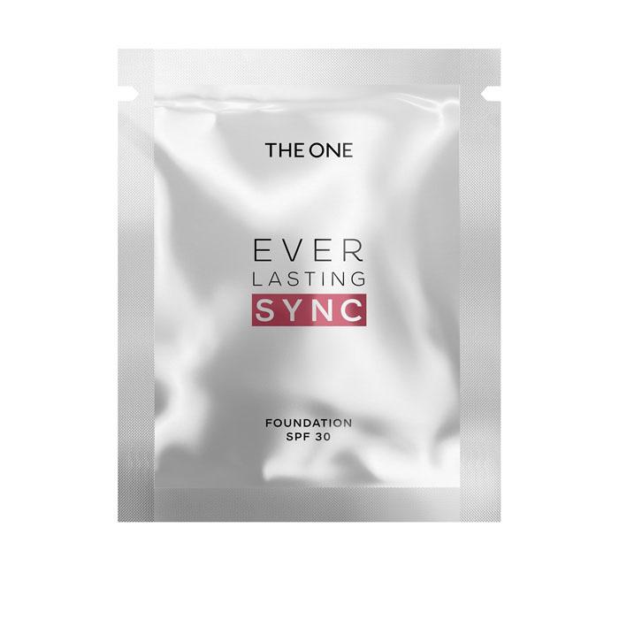 Пробник Адаптивная тональная основа The One EVERLASTING SYN c SPF 30 - ХОЛОДНЫЙ ФАРФОРОВЫЙ - код 37094